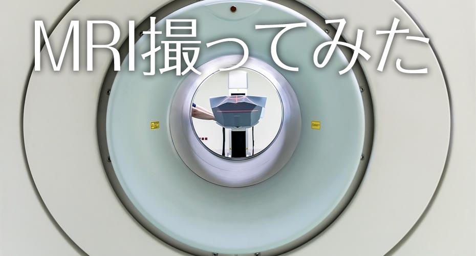 MRIやってみたら写ってた